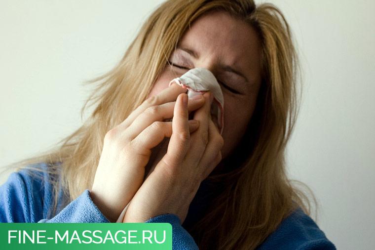 Пневмония и головная боль