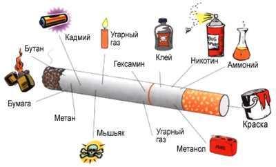 из чего состоят сигареты